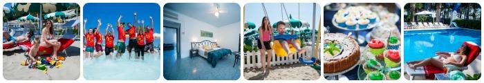 Tanti servizi per bambini in un hotel 3 stella Alba Adriatica
